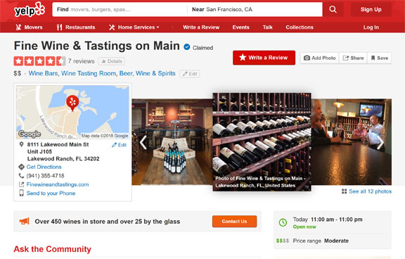 Wine Bar & Wine Store Fine Wine and Tastings Yelp Reviews